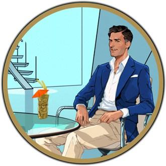 casino agent spinner logo