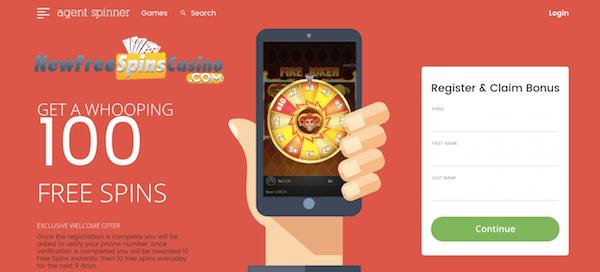 casino agent spinner no deposit bonus