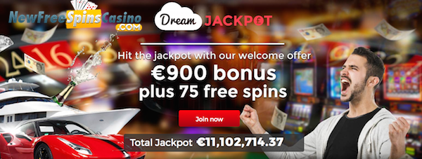 dream jackpot casino no deposit bonus
