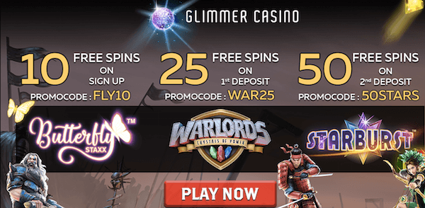 glimmer casino butterfly staxx free spins