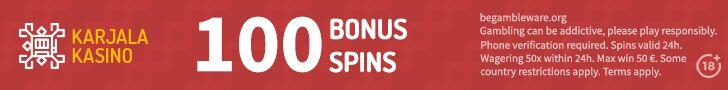 karjala kasino free spins no deposit
