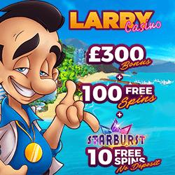 larry casino no deposit bonus codes