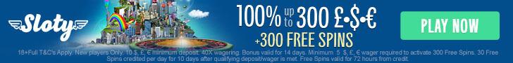 sloty casino free spins no deposit