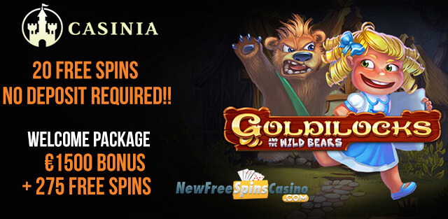 casinia casino no deposit exclusive bonus