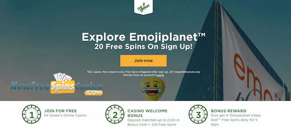 emoji planet bonus no deposit