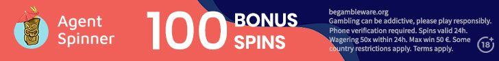agent spinner free spins no deposit