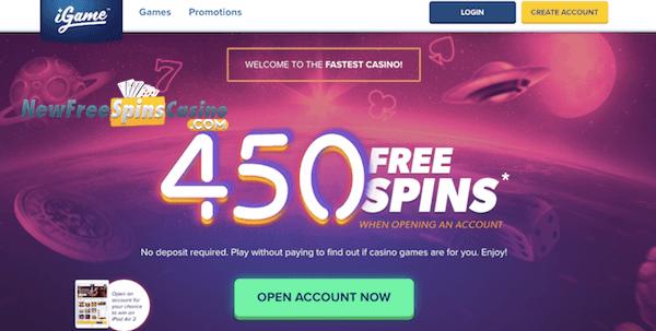 igame casino no deposit bonus
