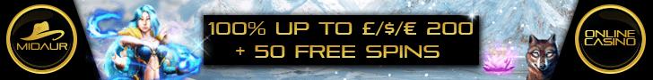 midaur casino free spins no deposit