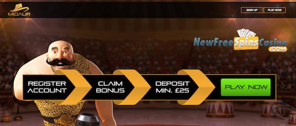 midaur casino no deposit