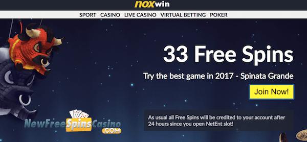 noxwin casino no deposit bonus