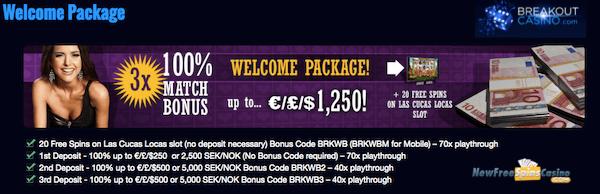 breakout casino bonuscode