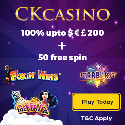 ck casino no deposit bonus codes