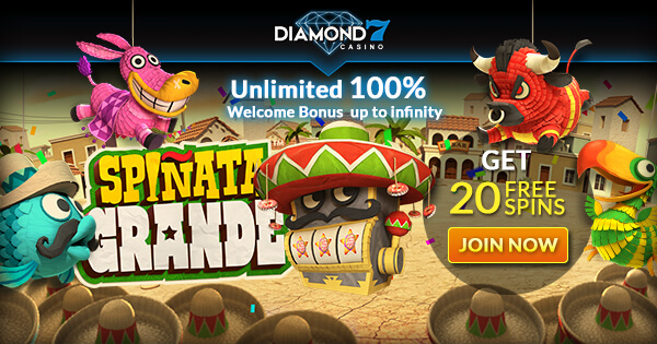 diamond7 Casino no deposit bonus