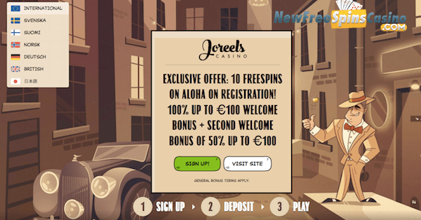 joreels casino no deposit codes