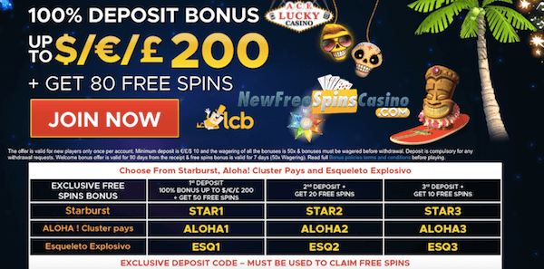 ace lucky casino no deposit bonus