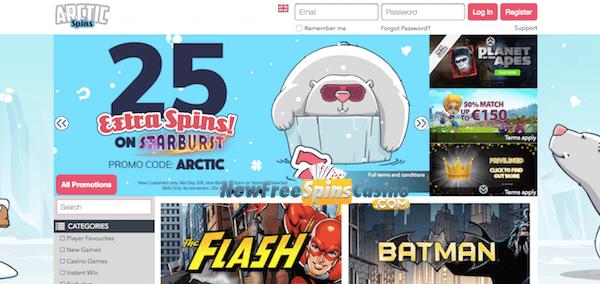 arctict casino no deposit bonus