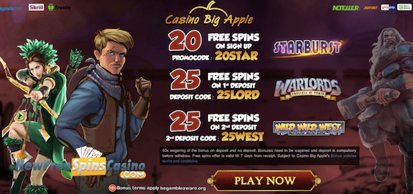 casino big apple casino no deposit bonus