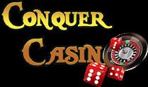 conquer casino logo