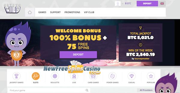 crypto casino free spins