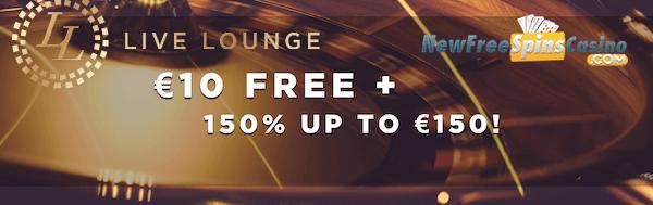 live lounge casino no deposit bonus