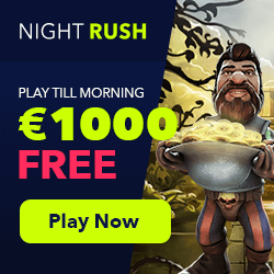 nightrush casino no deposit bonus codes