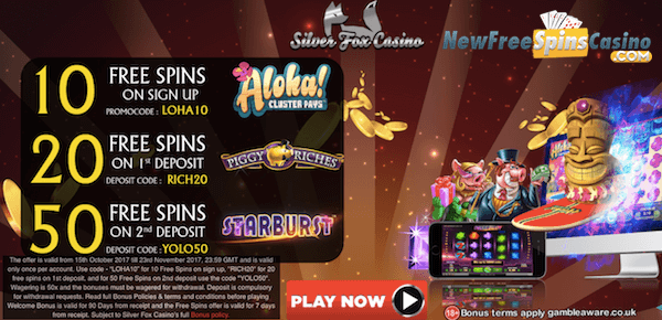 silver fox casino no deposit bonus