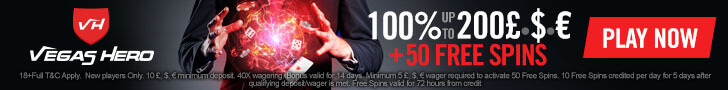 vegas hero casino free spins no deposit
