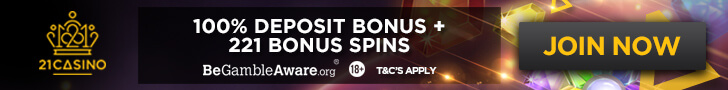 21casino free spins no deposit