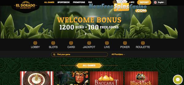 eldorado casino free spins