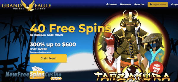 bonus code grand eagle casino