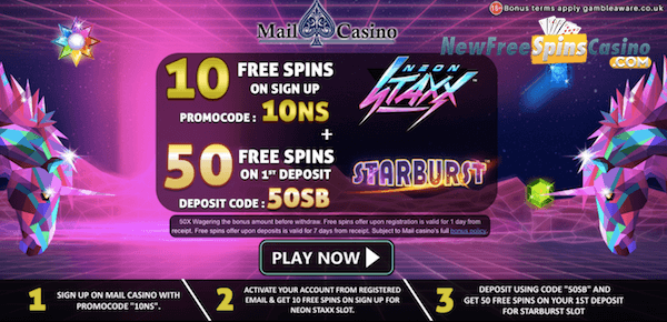 mail casino no deposit bonus