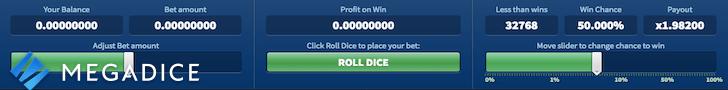 megadice casino free spins no deposit