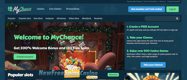 mychance casino no deposit bonus
