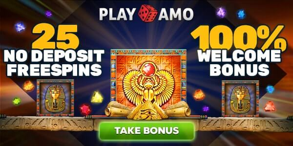 Book Of Pyramids Free Spins No Deposit on Playamo Casino