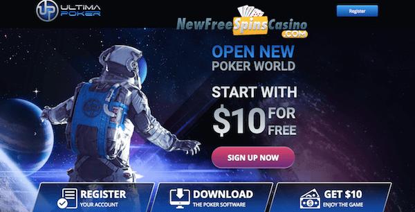 10 Free Cash No Deposit On Ultima Poker Gambling Bonuses No Deposit Online Casino Bonuses List Of No Deposit Casinos