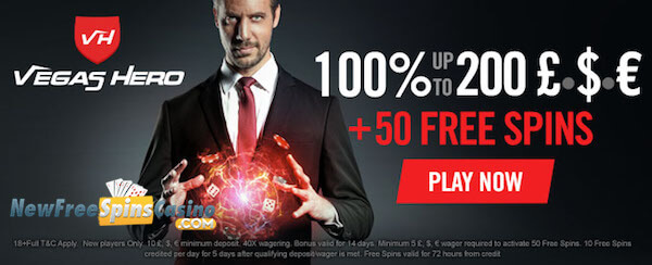 vegas hero casino no deposit bonus