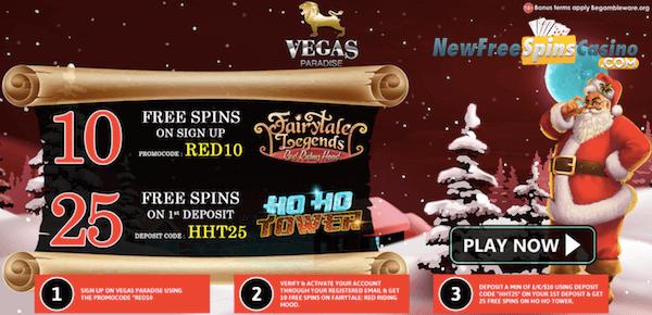 vegas paradise casino no deposit bonus
