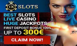 1xSLOTS Bitcoin Casino No Deposit Bonus