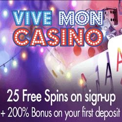 Vive Mon Casino no deposit bonus codes
