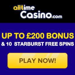 all time casino no deposit bonus codes