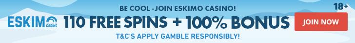 eskimo casino free spins no deposit