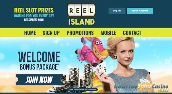 reel island casino no deposit bonus