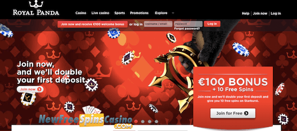 royal panda casino no deposit bonus