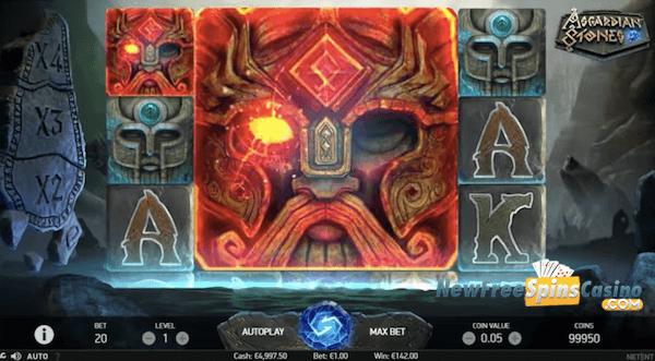 Asgardian Stones free spins no deposit