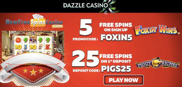 dazzle casino no deposit bonus