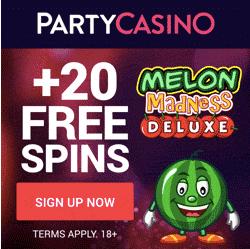 partycasino no deposit bonus codes