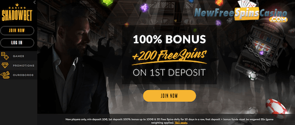 shadowbet casino no deposit bonus