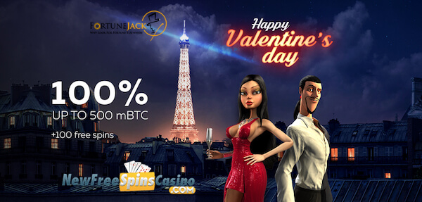 valentine's day free spins no deposit