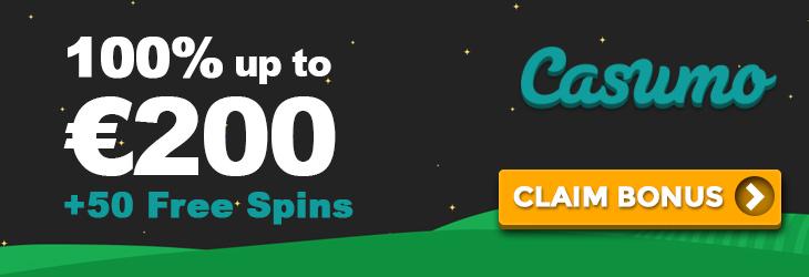 Amazing Casumo Casino Bonus and Free Spins 2018