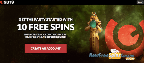 no deposit bonus codes guts casino